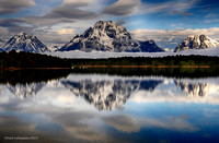 Across the Lake, Grand Tetons 9A signed