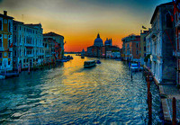 Grand Canal First Light Venice Italy