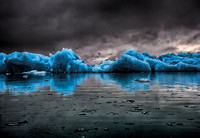 Blue Ice Reflections  4
