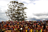 Crowd At Sing-Sing Papua