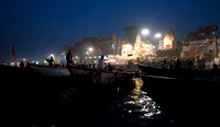 Aarti Ceremony From the Ganges River 1
